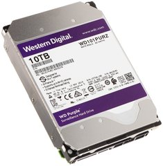 Жорсткий диск Western Digital Purple 10TB 256MB WD101PURZ 3.5 SATA III
