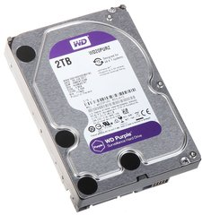 Жорсткий диск Western Digital Purple 2TB 64MB WD20PURZ 3.5 SATA III