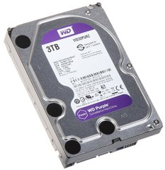 Жорсткий диск Western Digital Purple 3TB 64MB WD30PURZ 3.5 SATA III